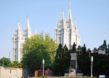 Temple in Salt Lake City, Utah