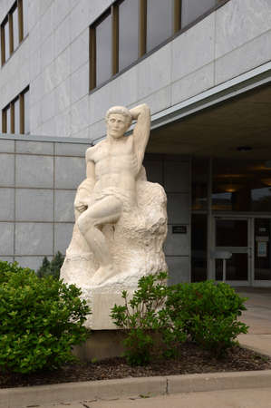 Statue in Capitol Park, St. Paul, Minnesota