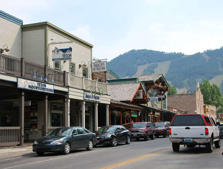 Old Town of Jackson, Wyoming