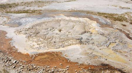 Pot Hole at Yellowstone National Park, Wyoming