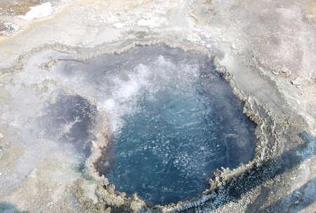 Hot Spring at Yellowstone National Park, Wyoming