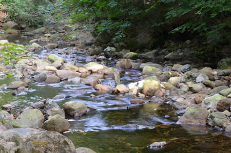River Ilse in The Harz Mountains, Saxony - Anhalt