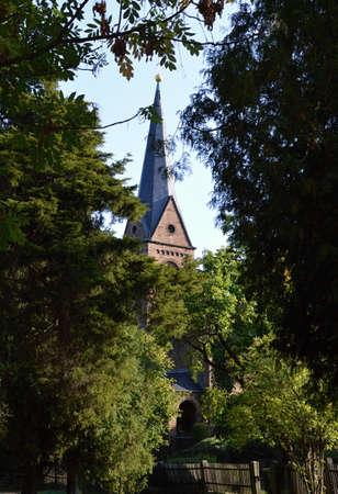 Church in Ilsenburg in the Harz Mountains, Saxony - Anhalt Reklamní fotografie