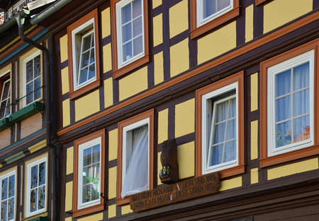 Old Town of Wernigerode in the Harz Mountains, Saxony - Anhalt