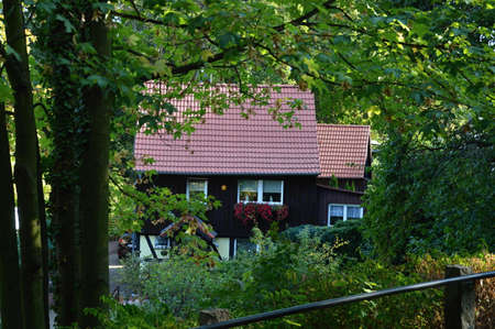 Ilsenburg in the Harz Mountains, Saxony - Anhalt