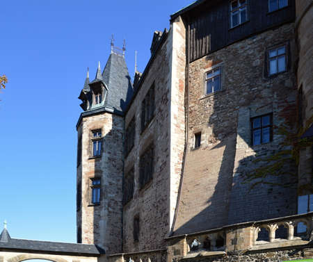 Castle Wernigerode in the Harz Mountains, Saxony - Anhalt