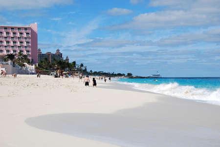 Beach at Nassau, Bahamas