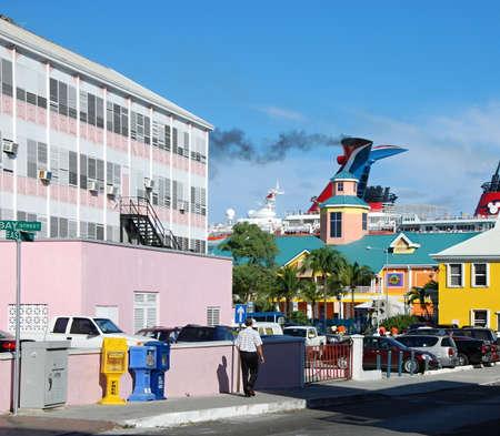 Downtown Nassau, Bahamas