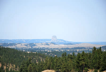 Devils Tower National Monument, Wyoming 写真素材