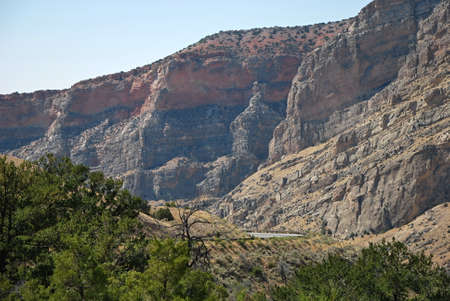 Landscape in the Bighorn Mountains, Wyoming