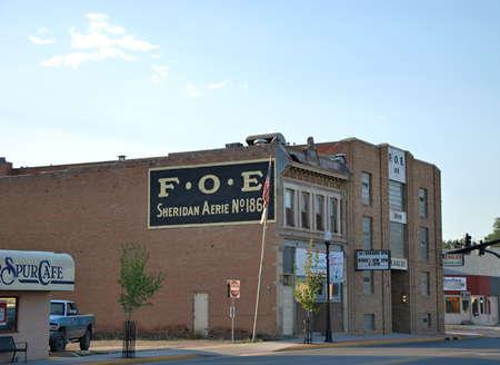 Western Town of Sheridan, Wyoming