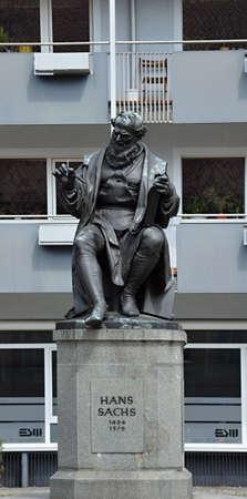 Statue in Nuremberg, Bavaria