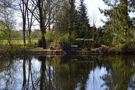 Fulde Valley in the Lueneburger Heide, Lower Saxony