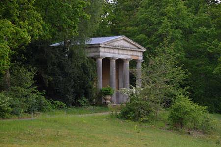 Temple in Park Pfaueninsel, Zehlendorf, Berlin