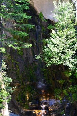 Waterfall in Mount Rainier National Park, Washington