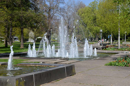 Park in Stuttgart, Baden - Wuerttemberg