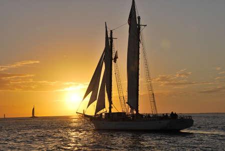 Sunset over Key West, Florida