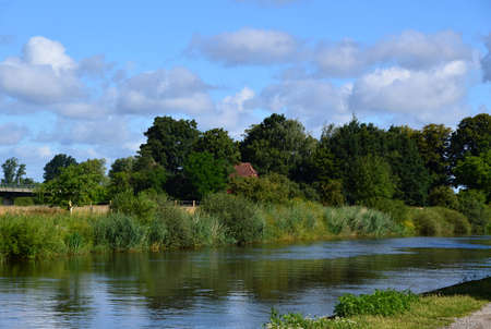 River Aller, Verden, Lower Saxony