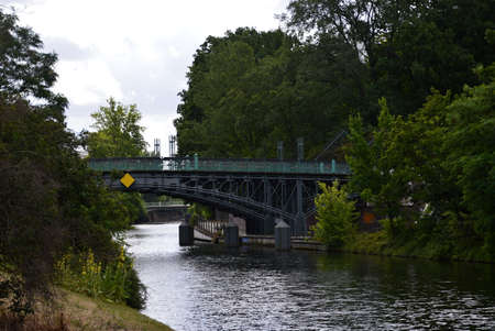 Bridge over the Landwehr Canal, Tiergarten, Berlin