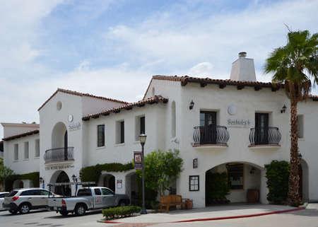 Old Town of La Quinta, California Фото со стока