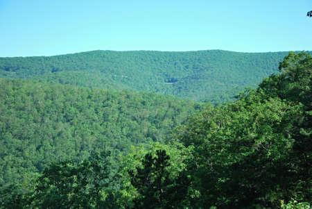 Landscape in Shenandoah National Park, Virginia
