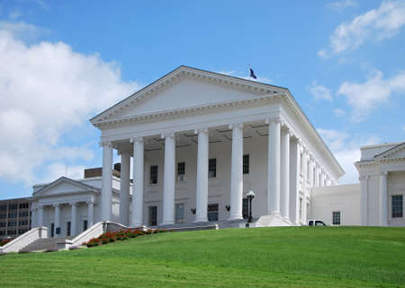 State Capitol in Richmond, the Capital City of Virginia