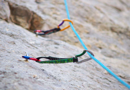 Climbing equipment photo