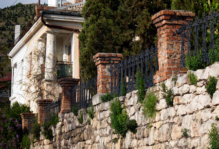 sightsee: Old fence from stones