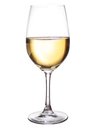 Witte wijn-concept Stockfoto