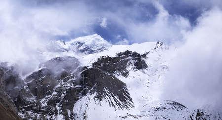 paisaje natural: High mountain range. Natural landscape