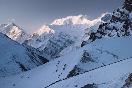 High mountains in Himalaya. Beautiful natural landscape Stock Photo