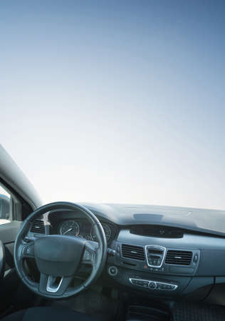Auto-Innen Zusammensetzung. Konzept und Idee