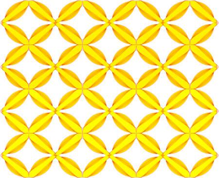 zvýšil: žlutý vzor