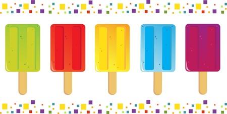 ice cream Icons 向量圖像