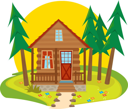 Cabin Icon  Illustration