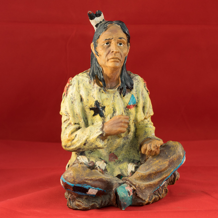 sculp: Indian miniature sculpture.