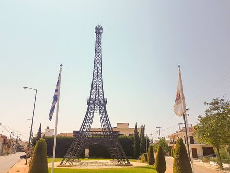 Eifel tower in FIliatra Greece. A replica of the France tower.