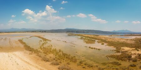 South Peloponnese landscape in Greece.