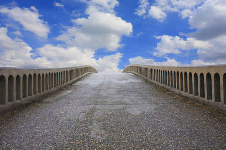 Road, sky Stock Photo - 10657230