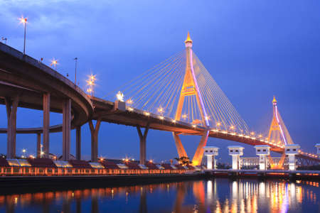 phraya: King Bridge Stock Photo