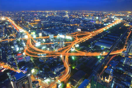 infrastructure buildings: In Bangkok. Stock Photo