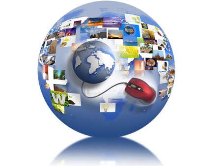 url web: Surfing the world.