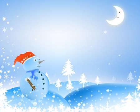 background Christmas photo
