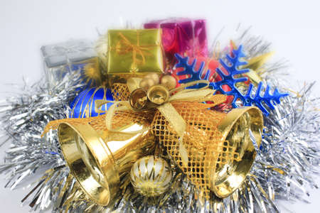 The background color of money during the Christmas gold. Stock Photo - 11555105
