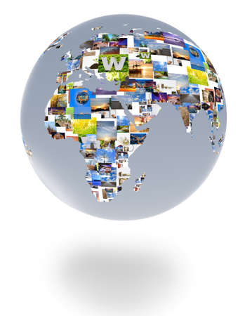 Picture of a globe. photo