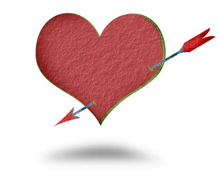 Background Paper Heart. Stock Photo - 11771227