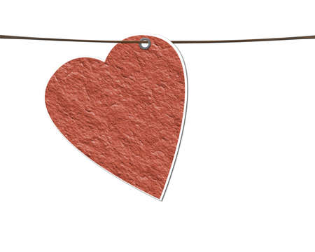 My paper texture heart. Stock Photo - 11771463