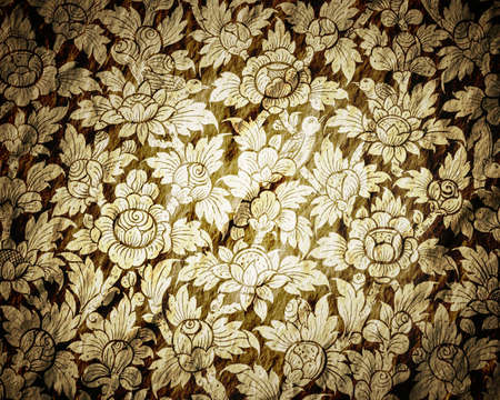 Old paper Flower photo