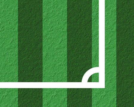Paper football. photo
