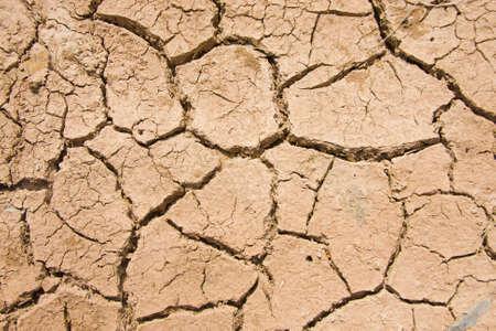 disharmony: Dry soil Disharmony. Stock Photo